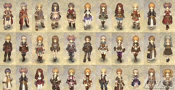 Tree Of Savior - Hairstyle color tree of savior