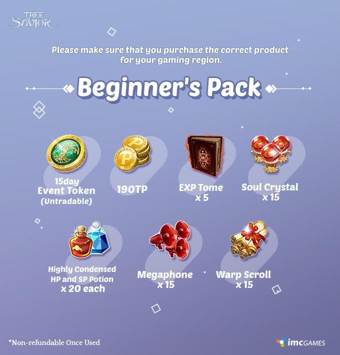 El pack para principiantes próximamente disponible 182ee5716b0c6fb7087f0c7755061b1e