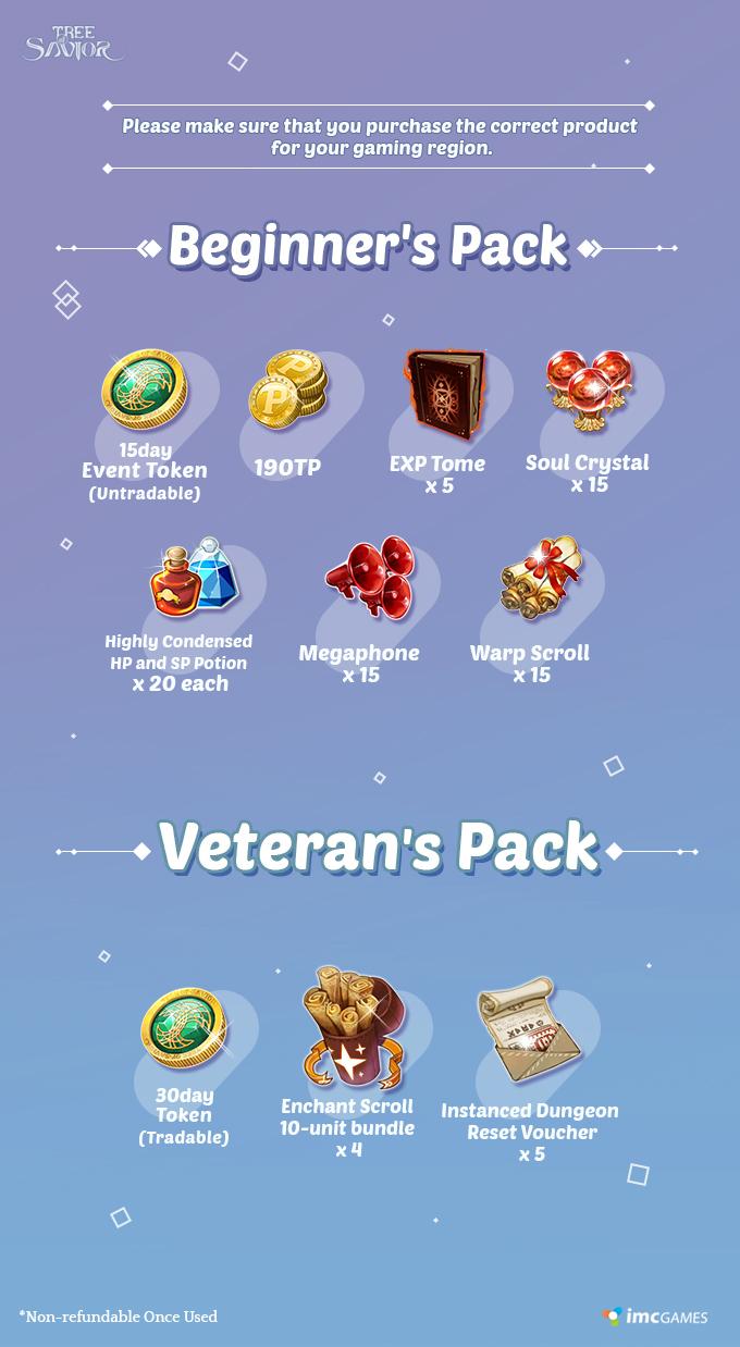 Disponibles los packs de principiantes y veteranos 7f658cf9b4e34356ca0886dc7385ade8